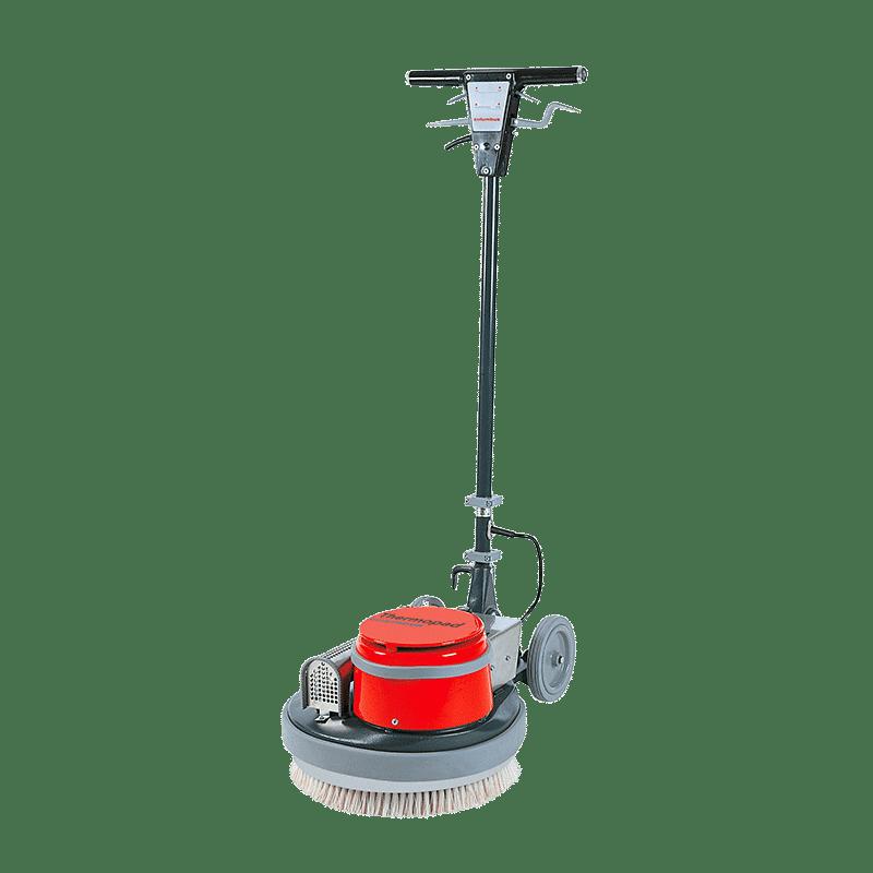 Einscheibenmaschine Thermopad Bürste
