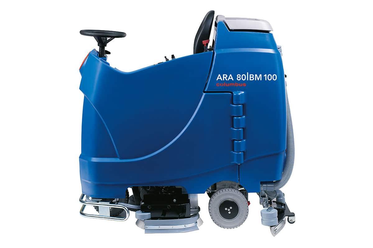 Reinigungsautomat Scheuersaugmaschine ARA80BM100 seitlich rechts