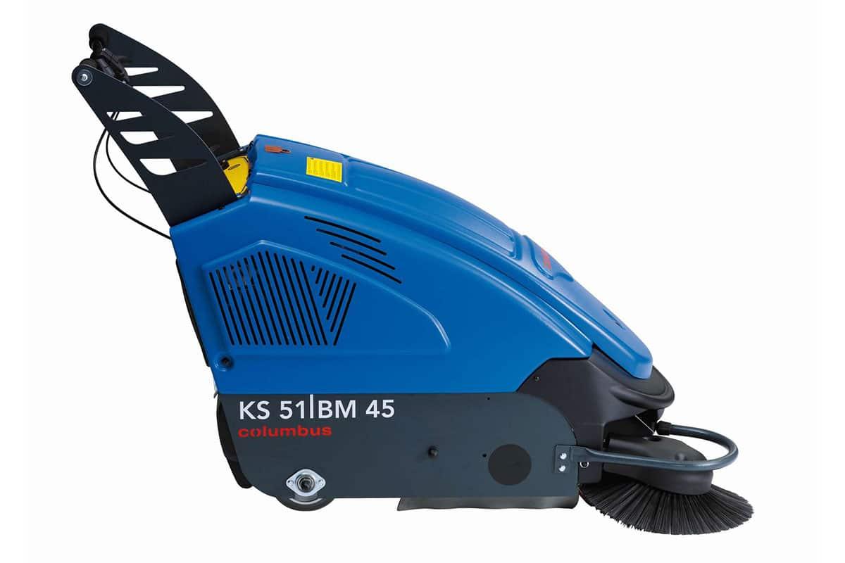 Kehrmaschine KS51BM45 seitlich rechts