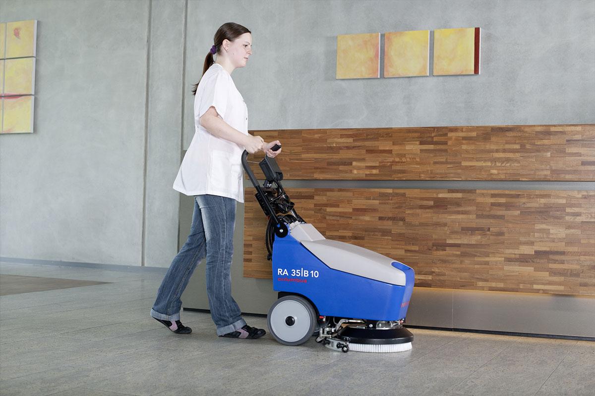 Reinigungsautomaten Scheuersaugmaschinen RA35B10 Fußboden reinigen