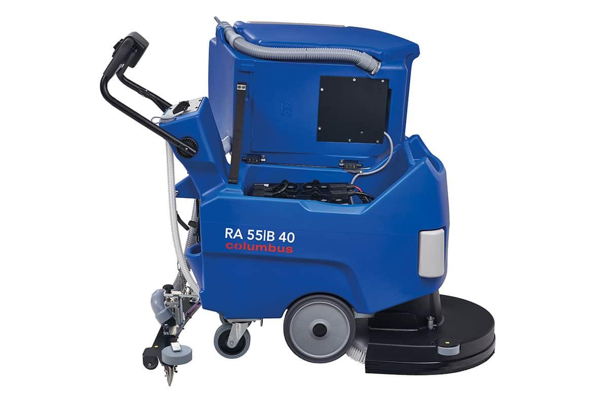 Reinigungsautomaten Scheuersaugmaschine RA55B40QS Abdeckung geöffnet