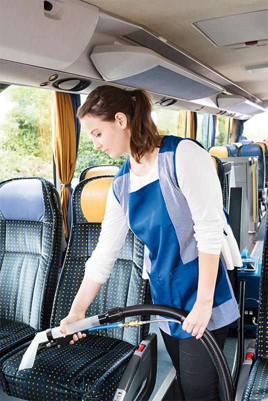 Sprühextraktionsgerät SX44 Reinigung Sitze