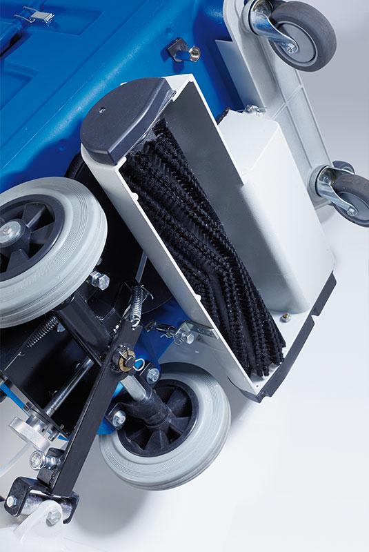 Sprühextraktionsmaschine TA50K50 Bürsteinheit