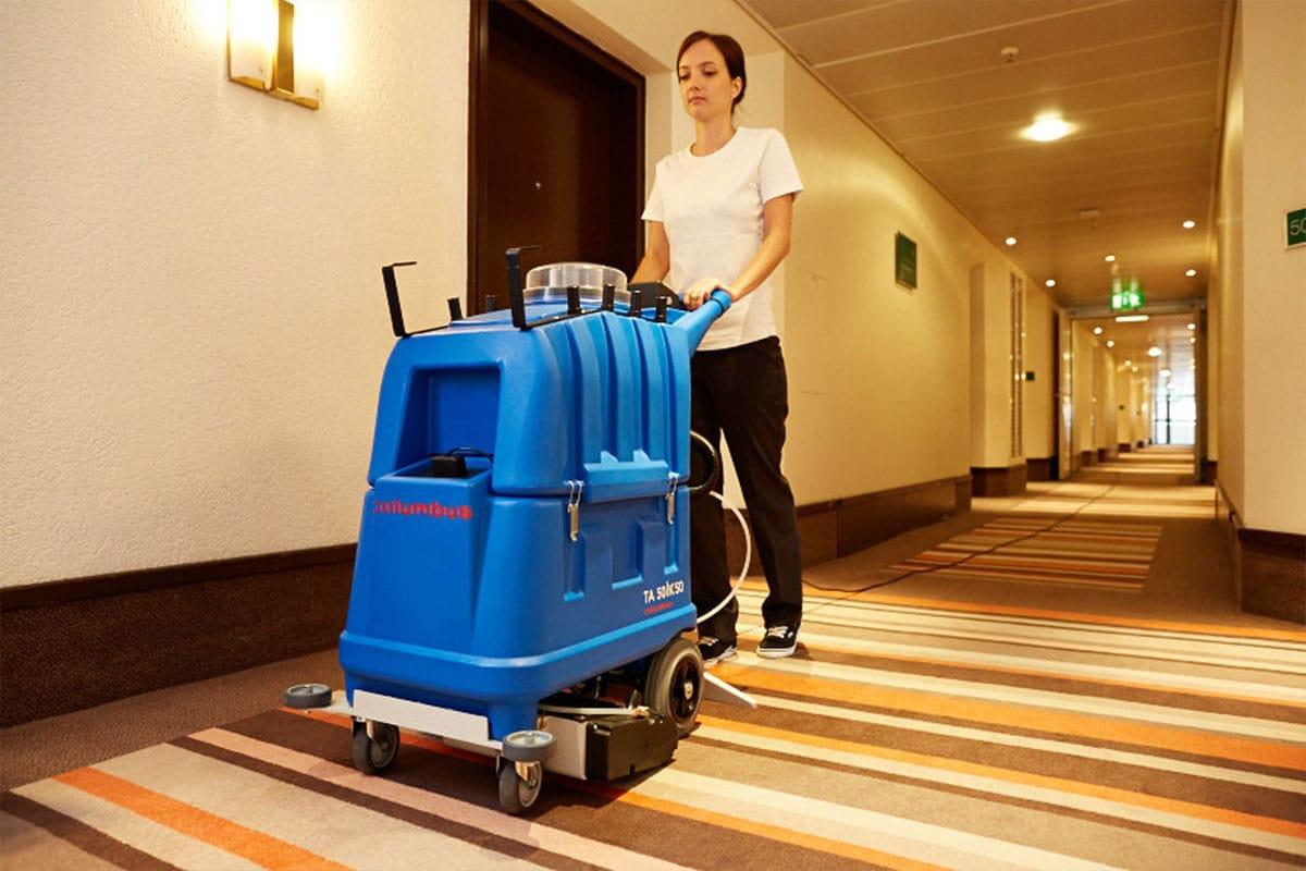 Sprühextraktionsmaschine TA50K50 Teppichboden Reinigung