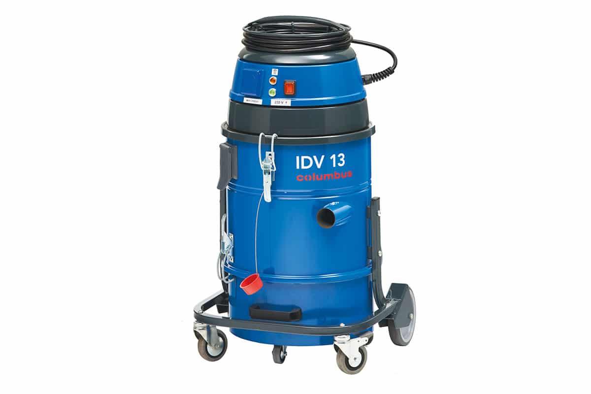 Industriesauger IDV13 seitlich vorne