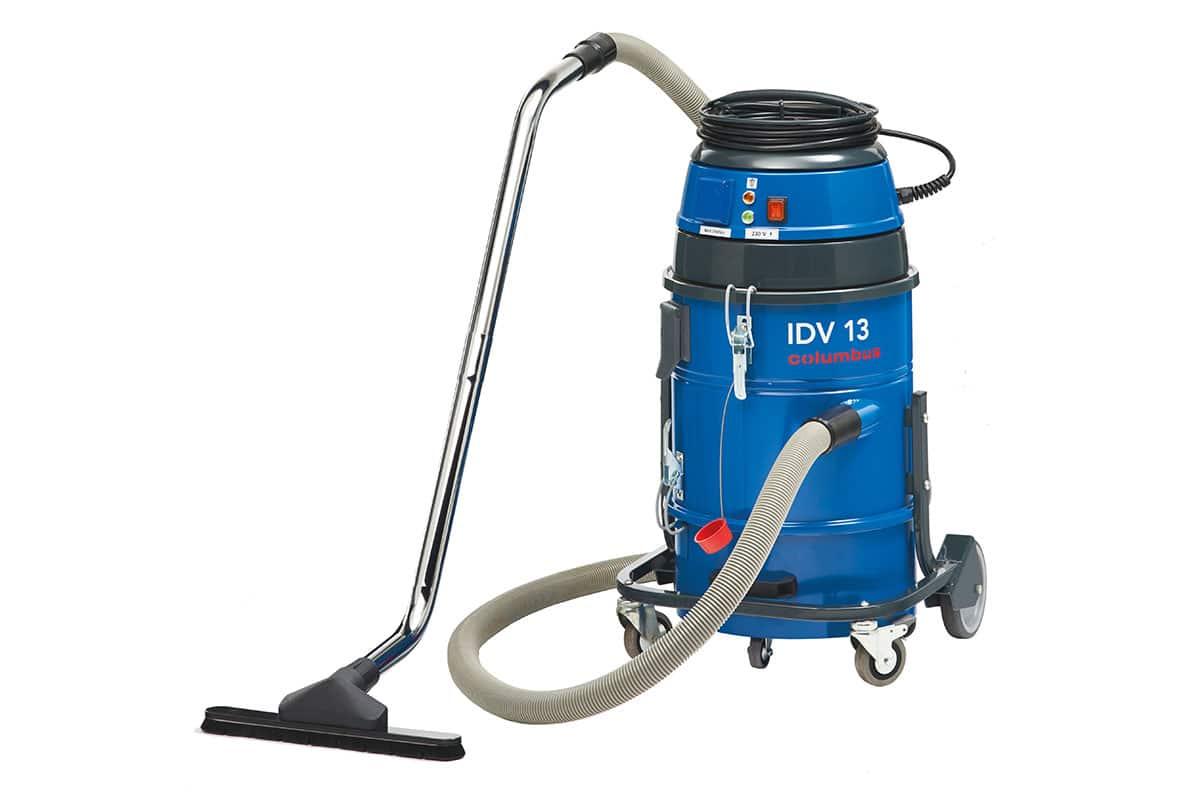 Industriesauger IDV13 vorne mit Bodendüse