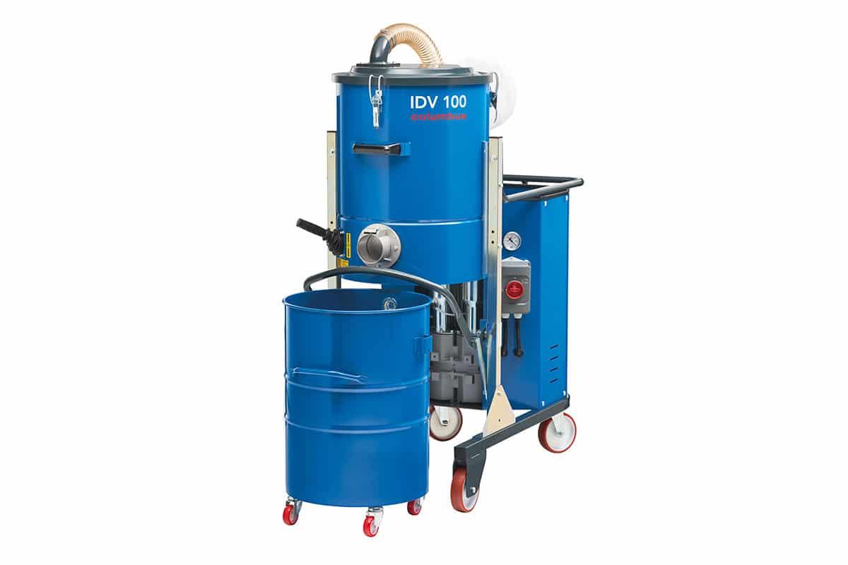 Industriesauger IDV100 seitlich vorne ohne Behälter