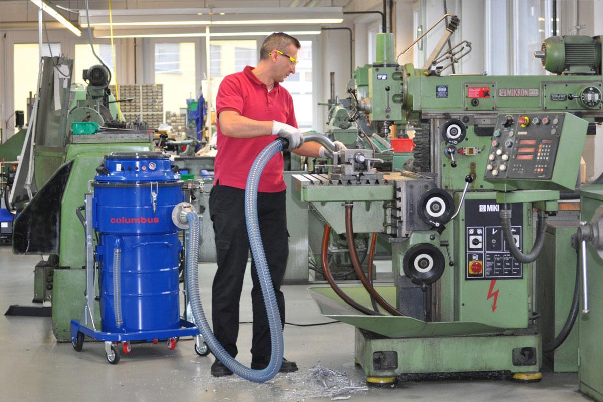 Industriesauger IDV100 industrieller Sauger Werkstatt saugen