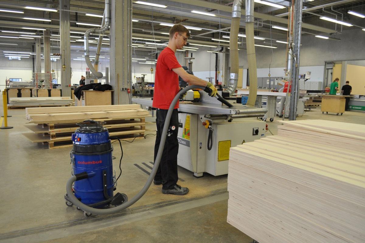 Industriesauger IDV20 Werkstatt saugen