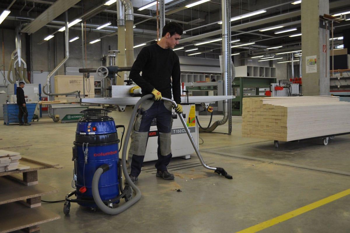 Industriesauger IDV20 Industriefläche saugen