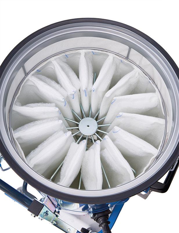 Industriesauger IDV60 eco Filter senkrecht