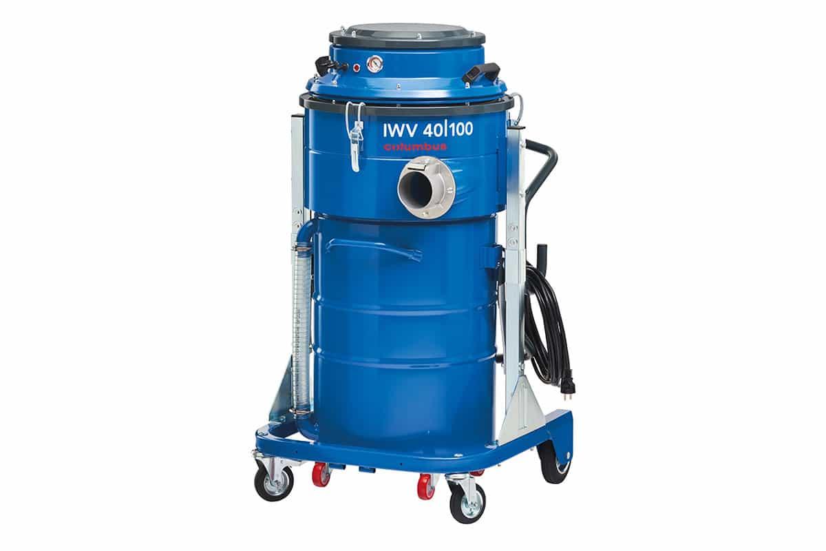Industriesauger IWV 40-100 seitlich vorne ohne Schlauch