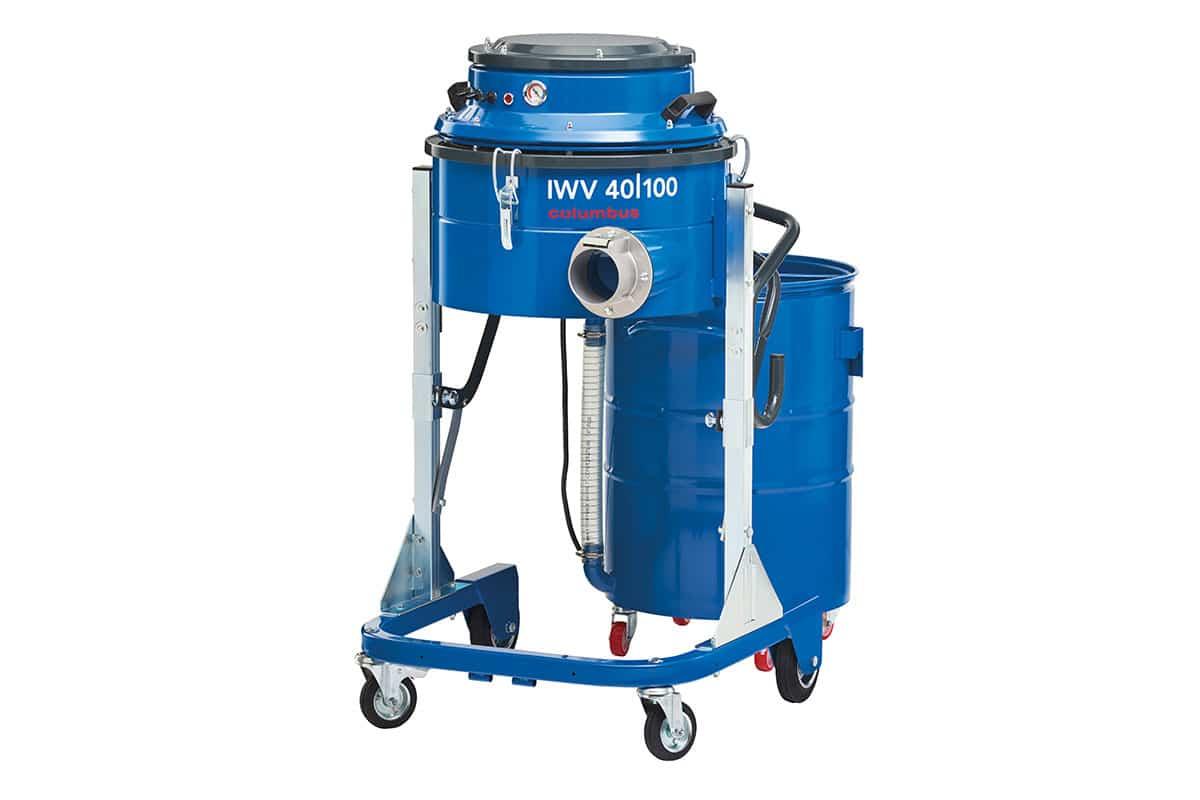 Industriesauger IWV 40-100 seitlich vorne ohne Behälter