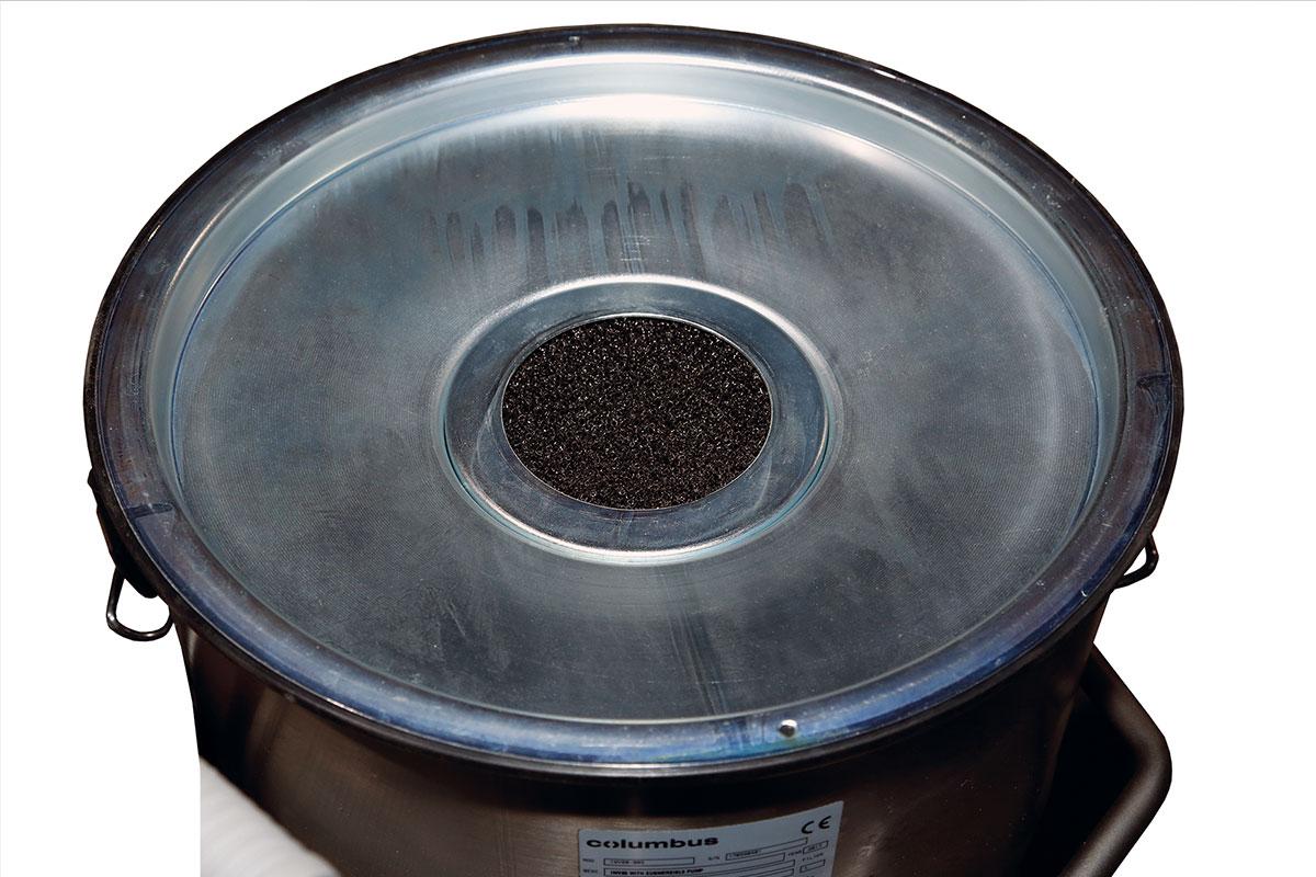 Industriesauger IWV 80 pump Schwammfilter Saugkopf