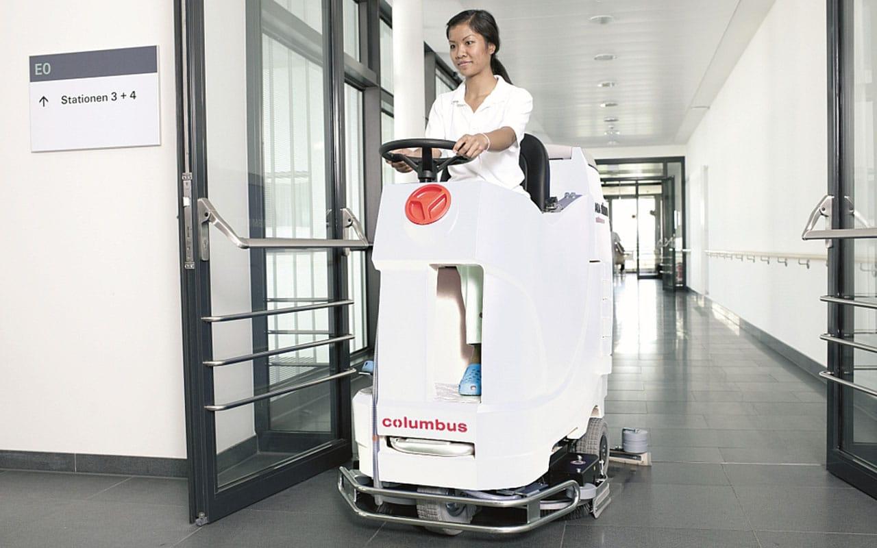 Gesundheitswesen Krankenhaus reinigen