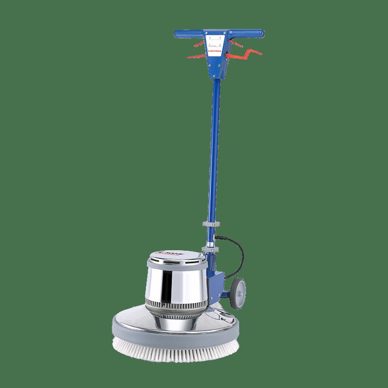 Single disc machine floor scrubbing machine E500E