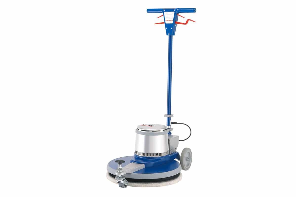 Single disc machine floor scrubbing machine HS1001 front