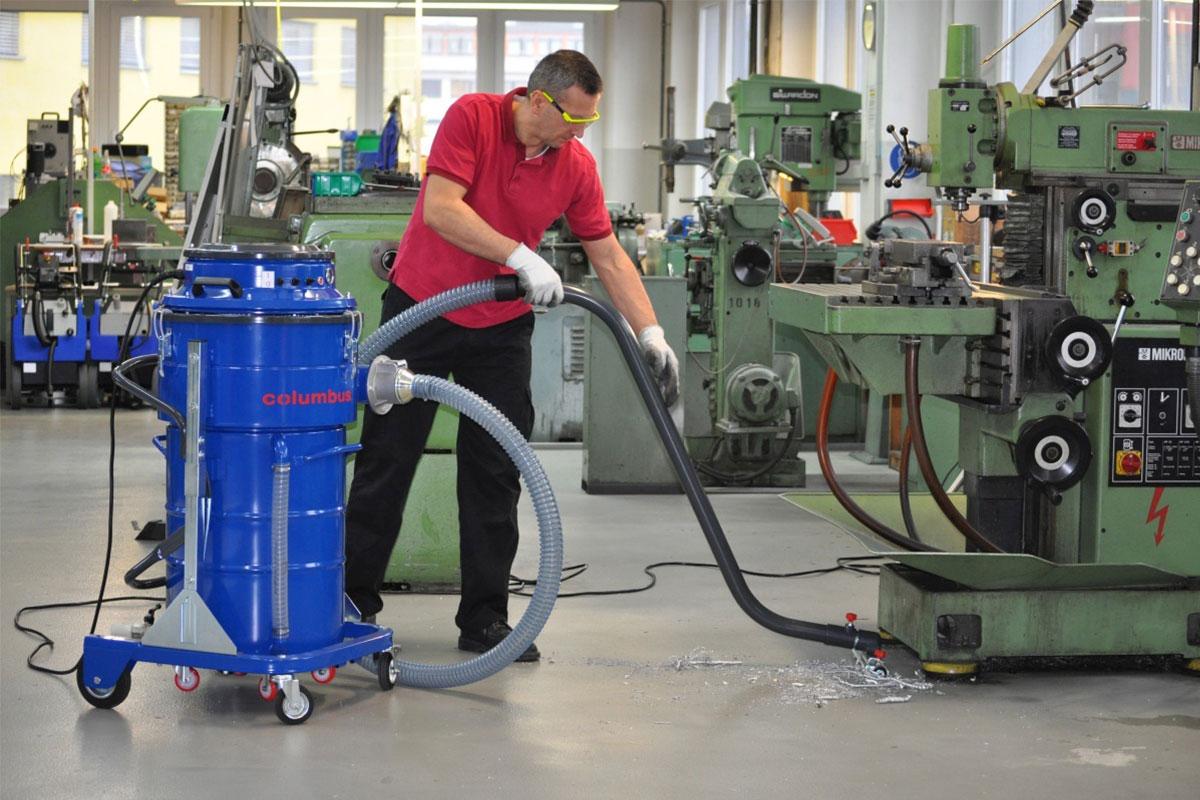 Industrial dry vacuum cleaner IWV40 100 workshop floor vacuum