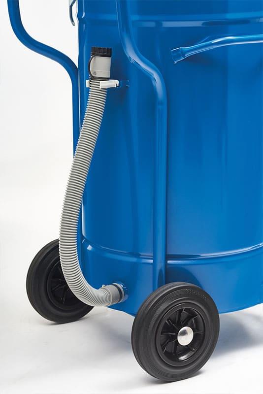 Industrial vacuum cleaner IWV80 detail tube