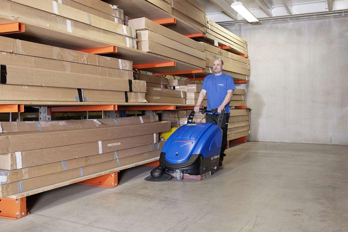 Sweeper KS51BM45 warehouse sweeping