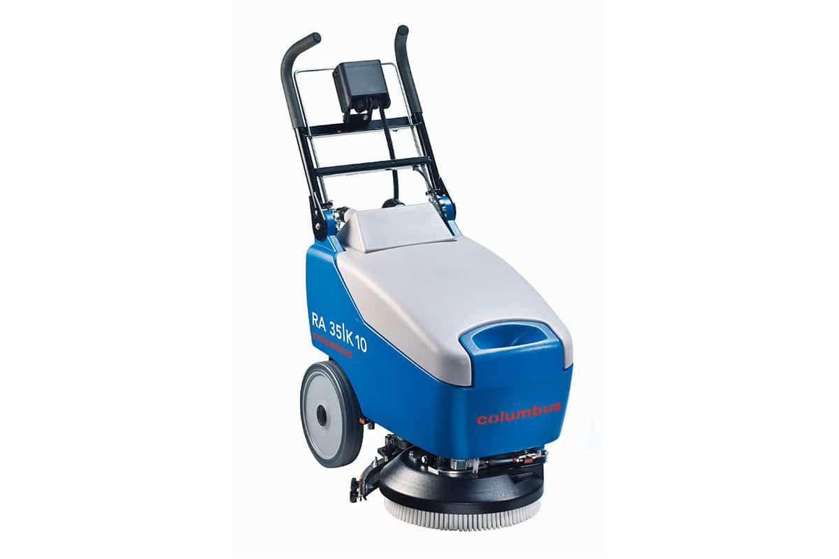 Scrubber dryer floor scrubber cleaning machine RA35K10 front