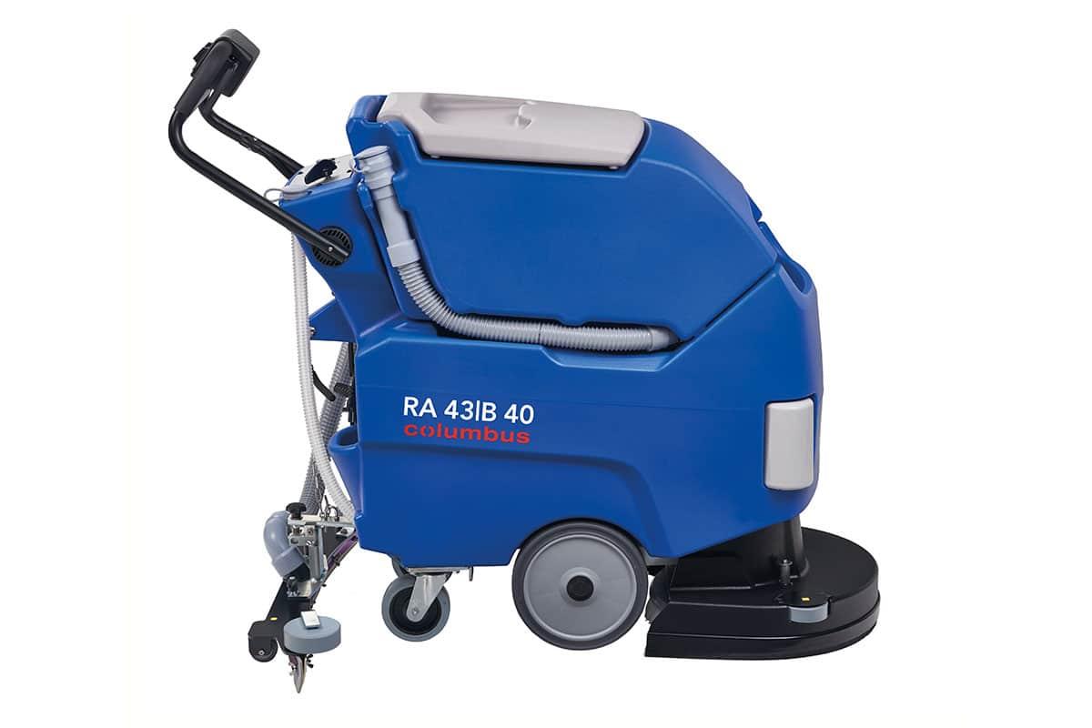 Scrubber dryer floor scrubber cleaning machine RA43B40QS cleaning machine left