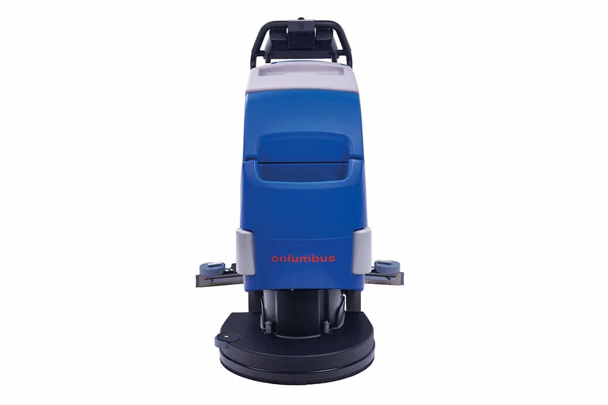 Scrubber dryer floor scrubber cleaning machine RA43BM40 front