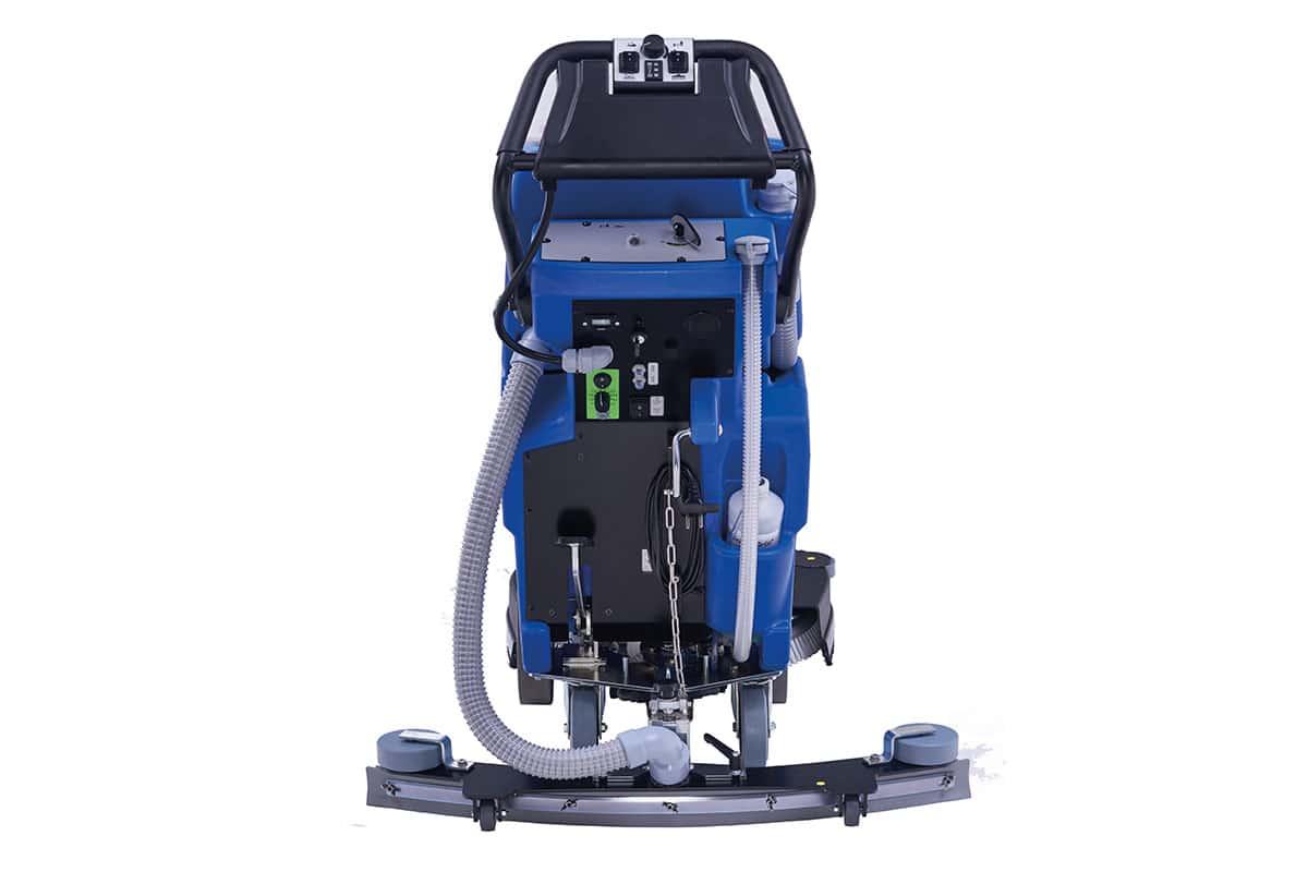 Scrubber dryer floor scrubber cleaning machine RA43BM40 back