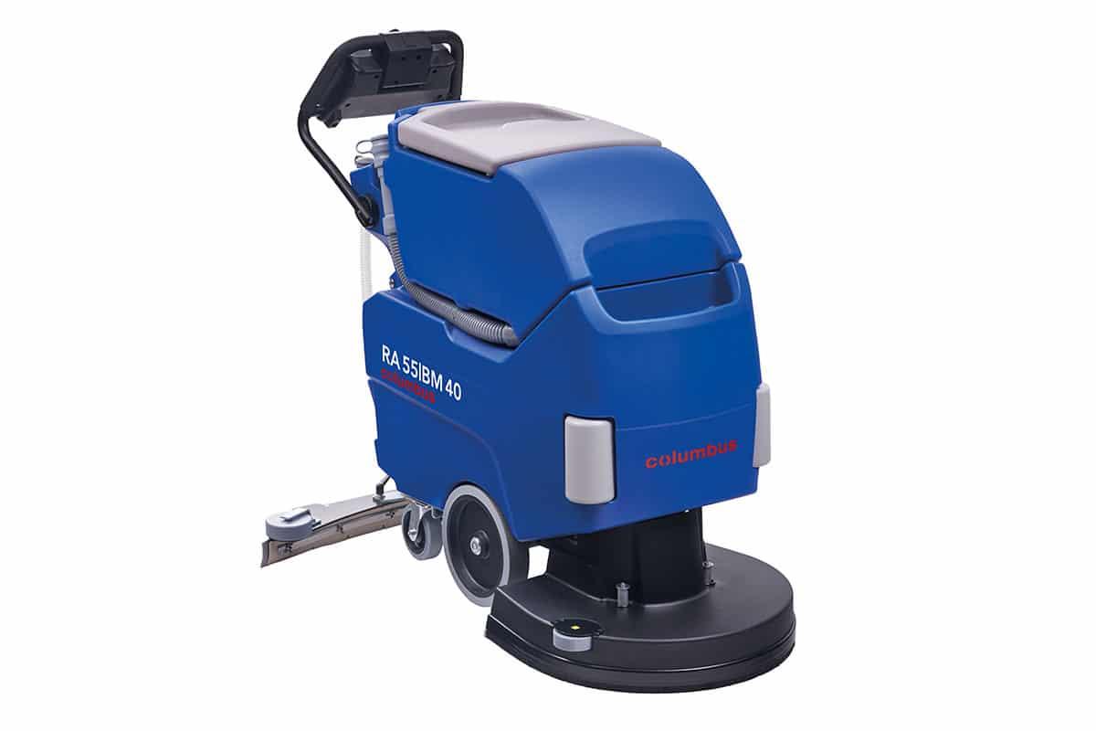 Scrubber dryer floor scrubber cleaning machine RA55BM40 front