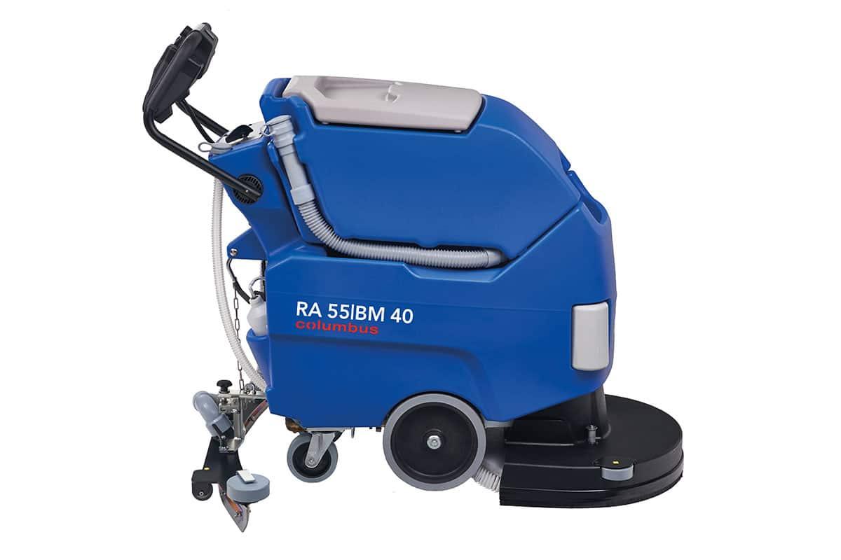 Scrubber dryer floor scrubber cleaning machine RA55BM40 left