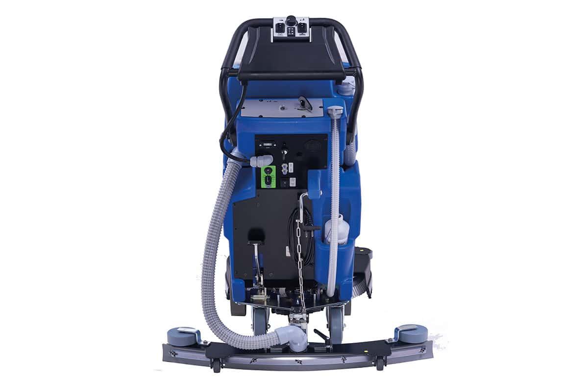 Scrubber dryer floor scrubber cleaning machine RA55BM40 back