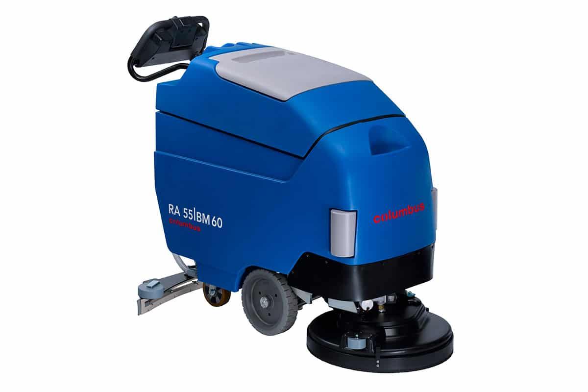 Scrubber dryer floor scrubber cleaning machine RA55BM60 front
