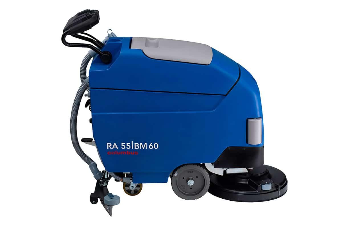 Scrubber dryer floor scrubber cleaning machine RA55BM60 left
