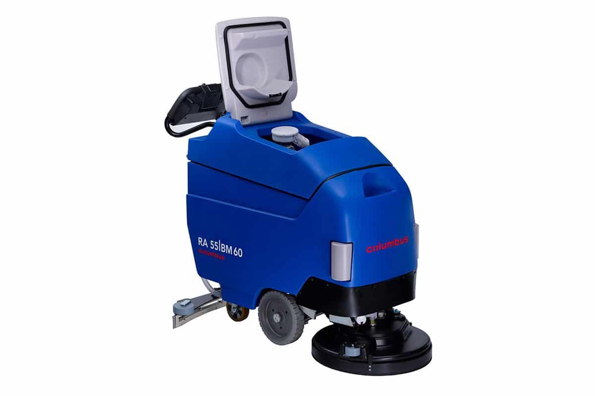 Scrubber dryer floor scrubber cleaning machine RA55BM60 front open