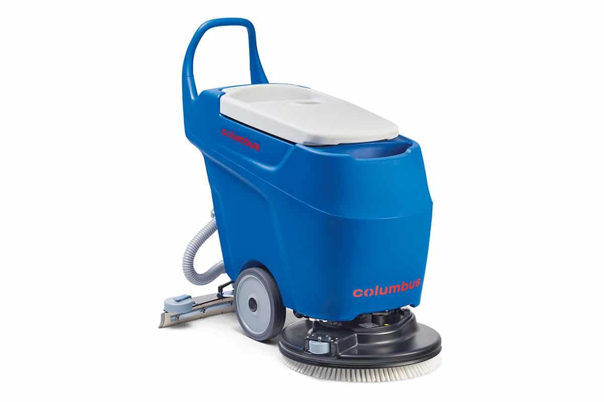 Scrubber dryer floor scrubber cleaning machine RA55K40 front