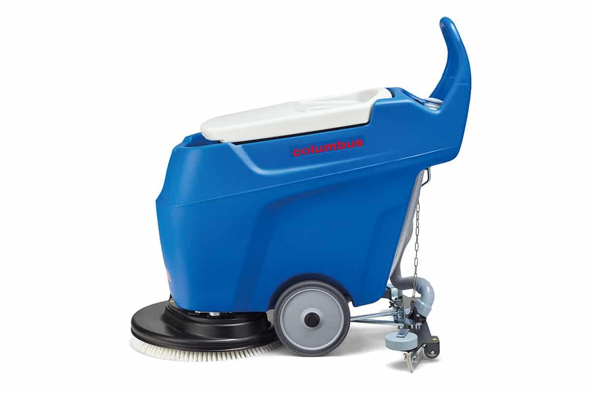 Scrubber dryer floor scrubber cleaning machine RA55K40 left