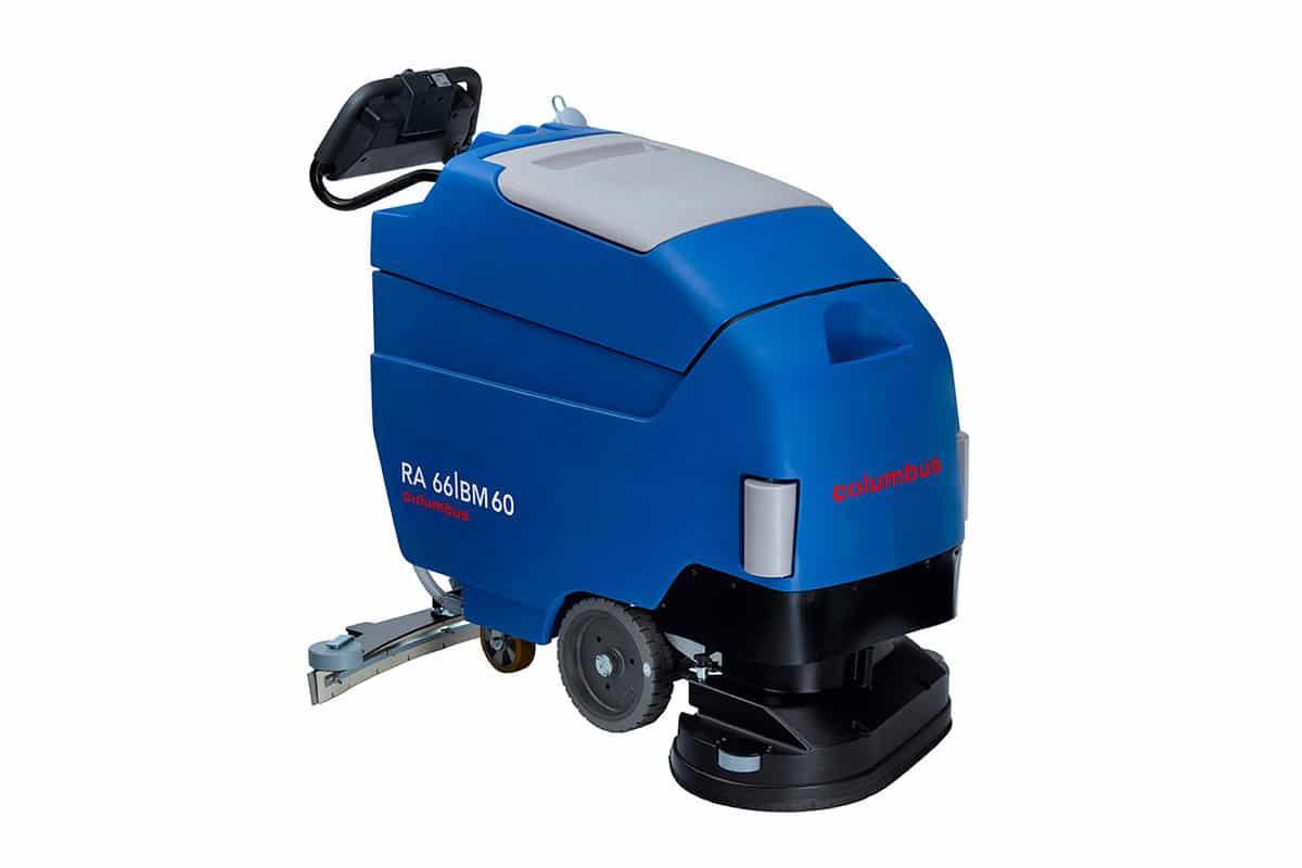 Scrubber dryer floor scrubber cleaning machine RA66BM60 front