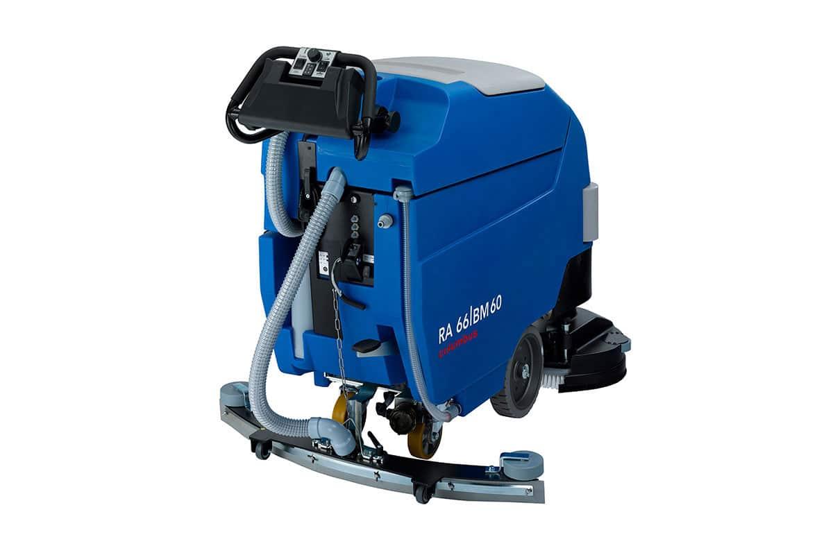 Scrubber dryer floor scrubber cleaning machine RA66BM60 back