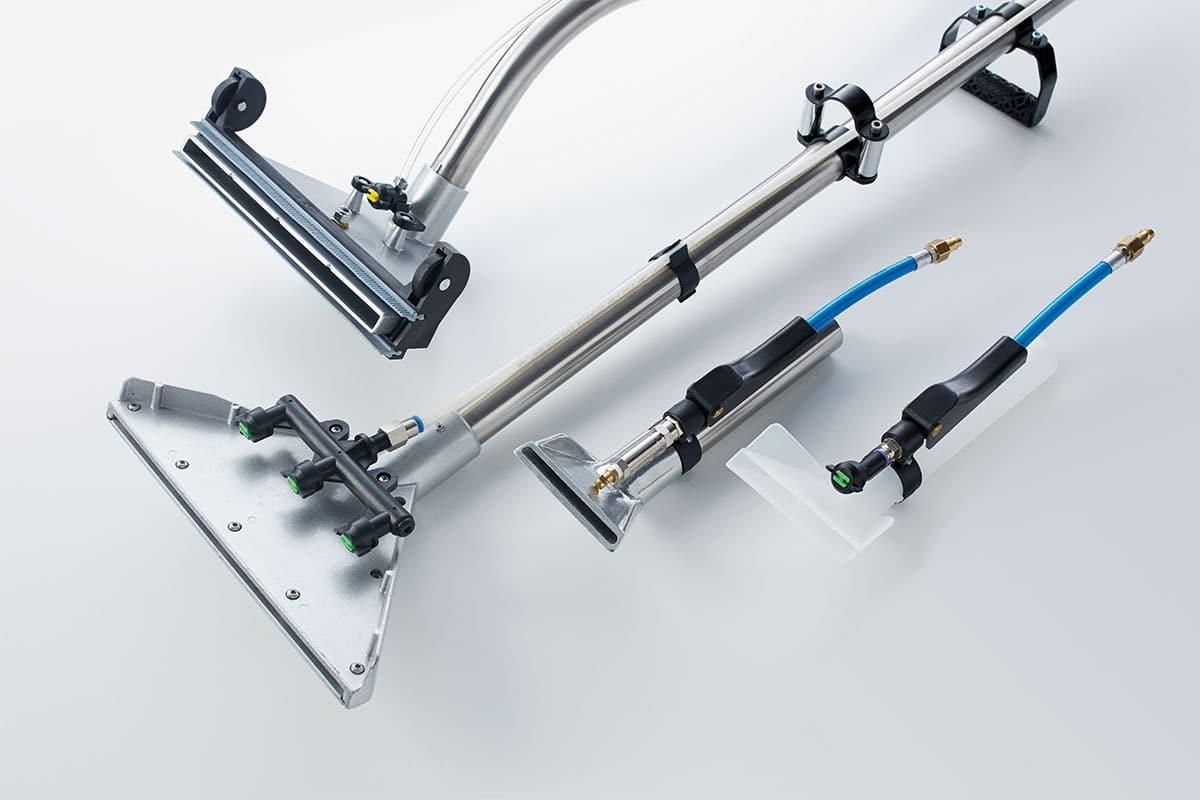 Spray extraction machine SX344 equipment details