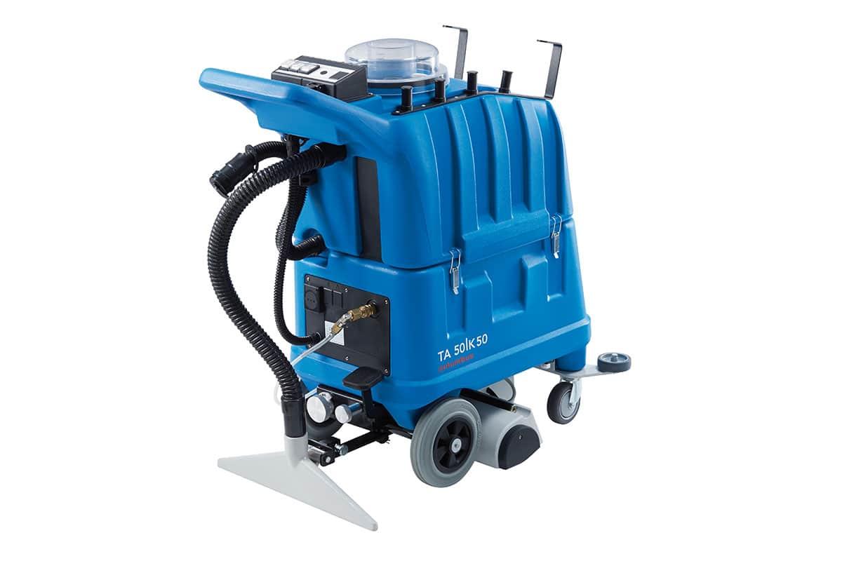 Carpet cleaning machine shampoo vacuum TA50K50 back