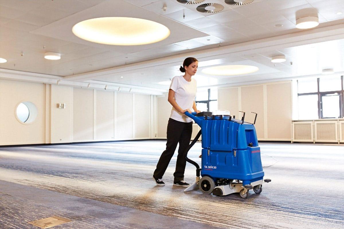 Carpet cleaning machine shampoo TA50K50 vacuum floor cleaning