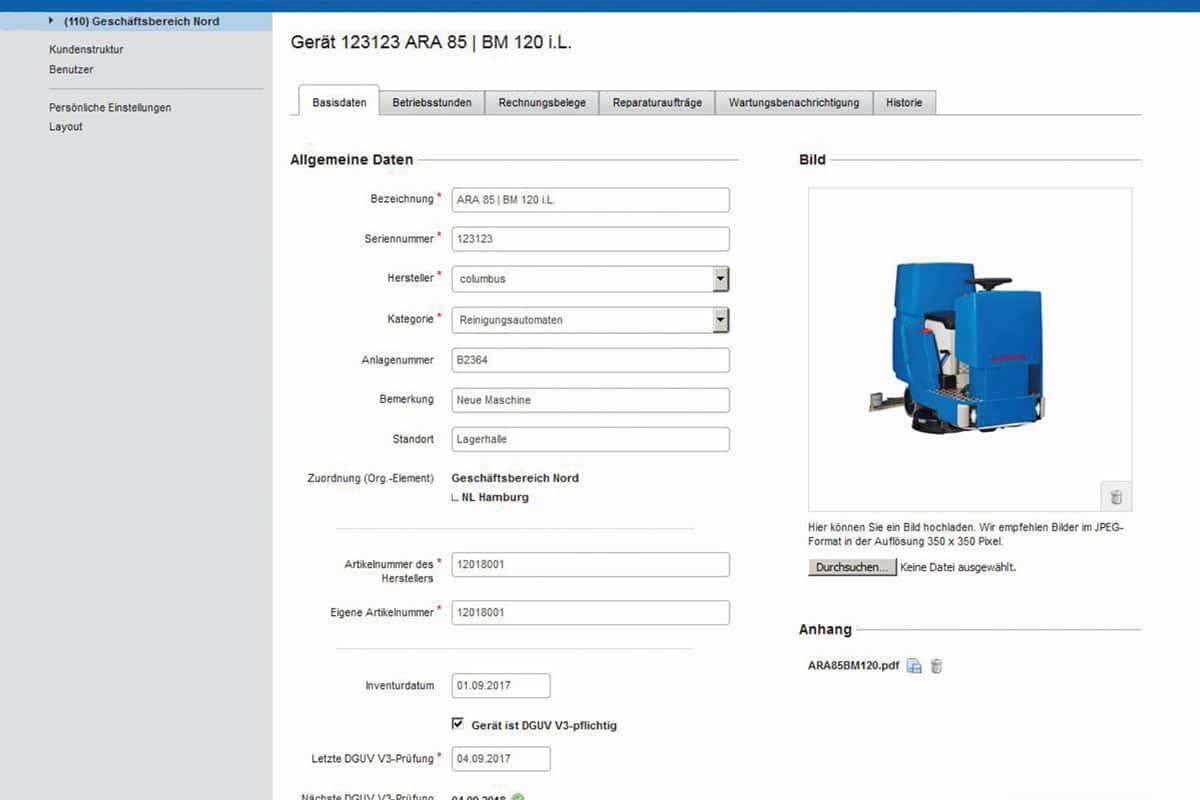 Smart tools cmm machine manager